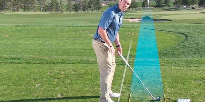 Allineamento del bastone da golf