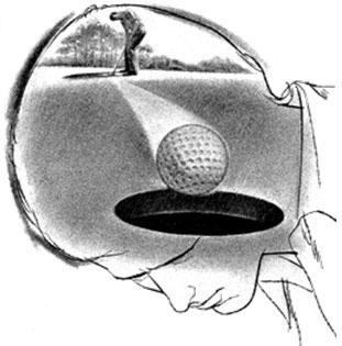 Vedere la palla in buca