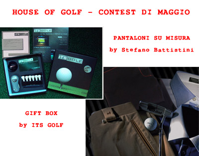 House of Golf - Contest di Maggio