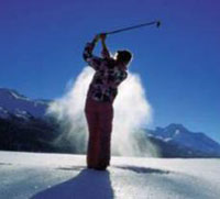 Sacca da golf nei mesi invernali