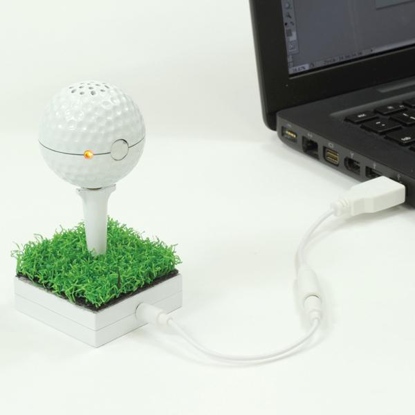 Cassa per lettore Mp3 Pallina da golf