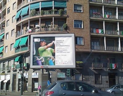 Pubblicità Open d'Italia Torino