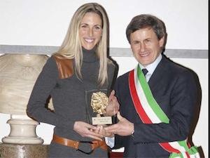 Diana Luna premiata Atleta dell'Anno