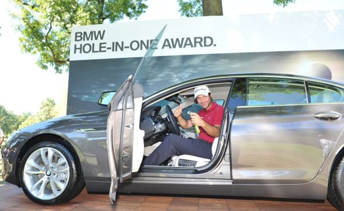 Hole in One BMW Italian Open 2012