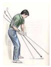 controlla il piano dello swing