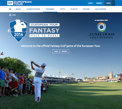 Fantasy Race to Dubai 2016 con HOUSE OF GOLF - House of ...
