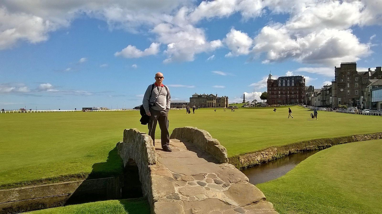 18th hole Old Course St. Andrews